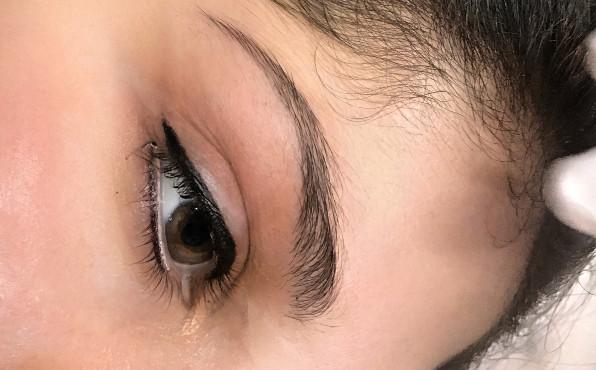 Permanent Make-up Augenlid